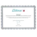 Certificato Petecki