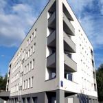 Palazzo condominiale Ekierka serramenti in pvc