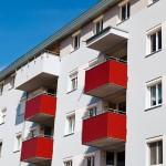 Palazzo condominiale finestre pvc
