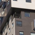 Palazzo condominiale serramenti in pvc