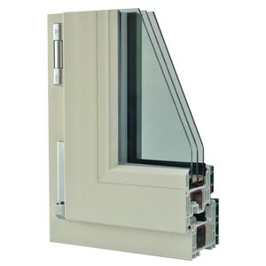 Okna Samoraj finestra pvc alluminio, classe A, 6 camere profilo Veka