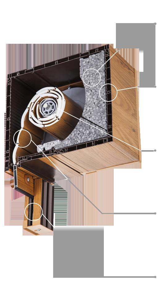 Avvolgibili monoblocco okna samoraj porte e finestre for Tapparelle in legno leroy merlin