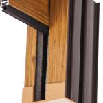 Okna Samoraj  avvolgibile monoblocco guide effetto legno