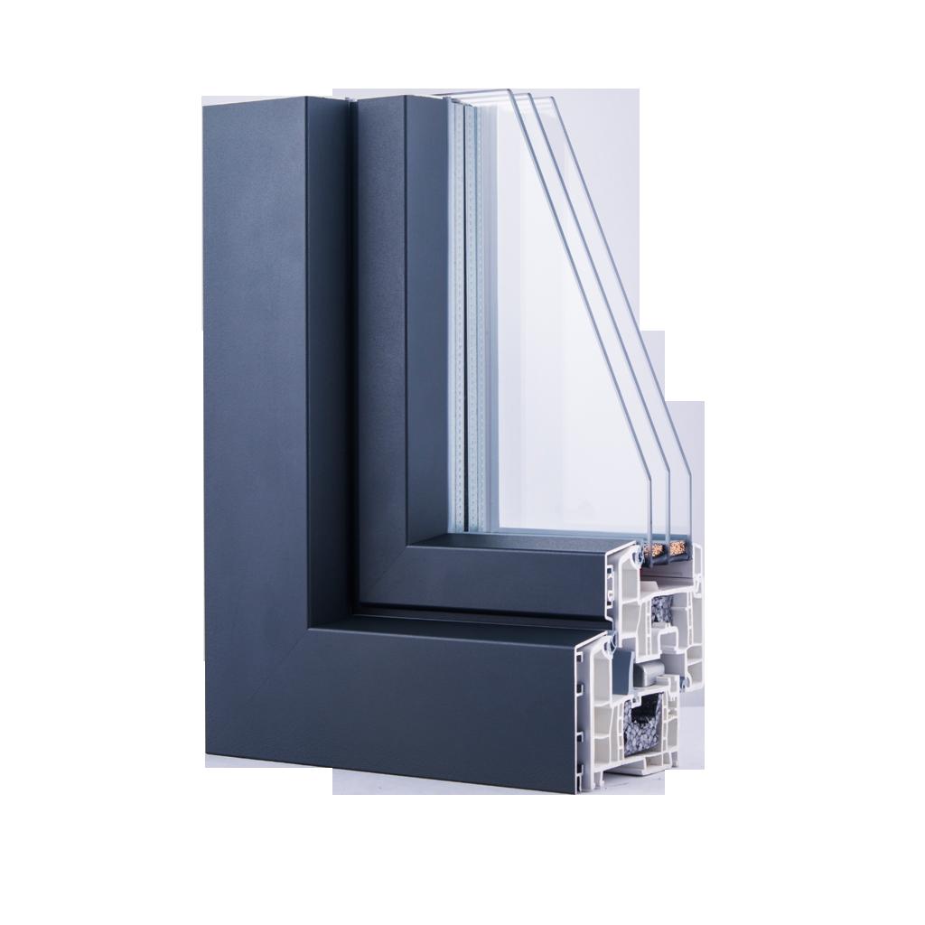 Geneo future 86 md pvc alu okna samoraj porte e - Finestre pvc rehau ...