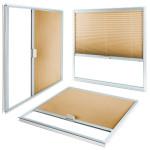 Okna Samoraj finestra PVC  tenda plissé interno vetro ScreenLine