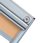 Okna Samoraj finestra PVC tenda a rullo interno vetro ScreenLine