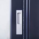 Okna Samoraj porta alzante scorrevole in pvc maniglietta esterna in alluminio