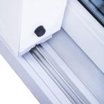Okna Samoraj porta alzante scorrevole in pvc guide in alluminio