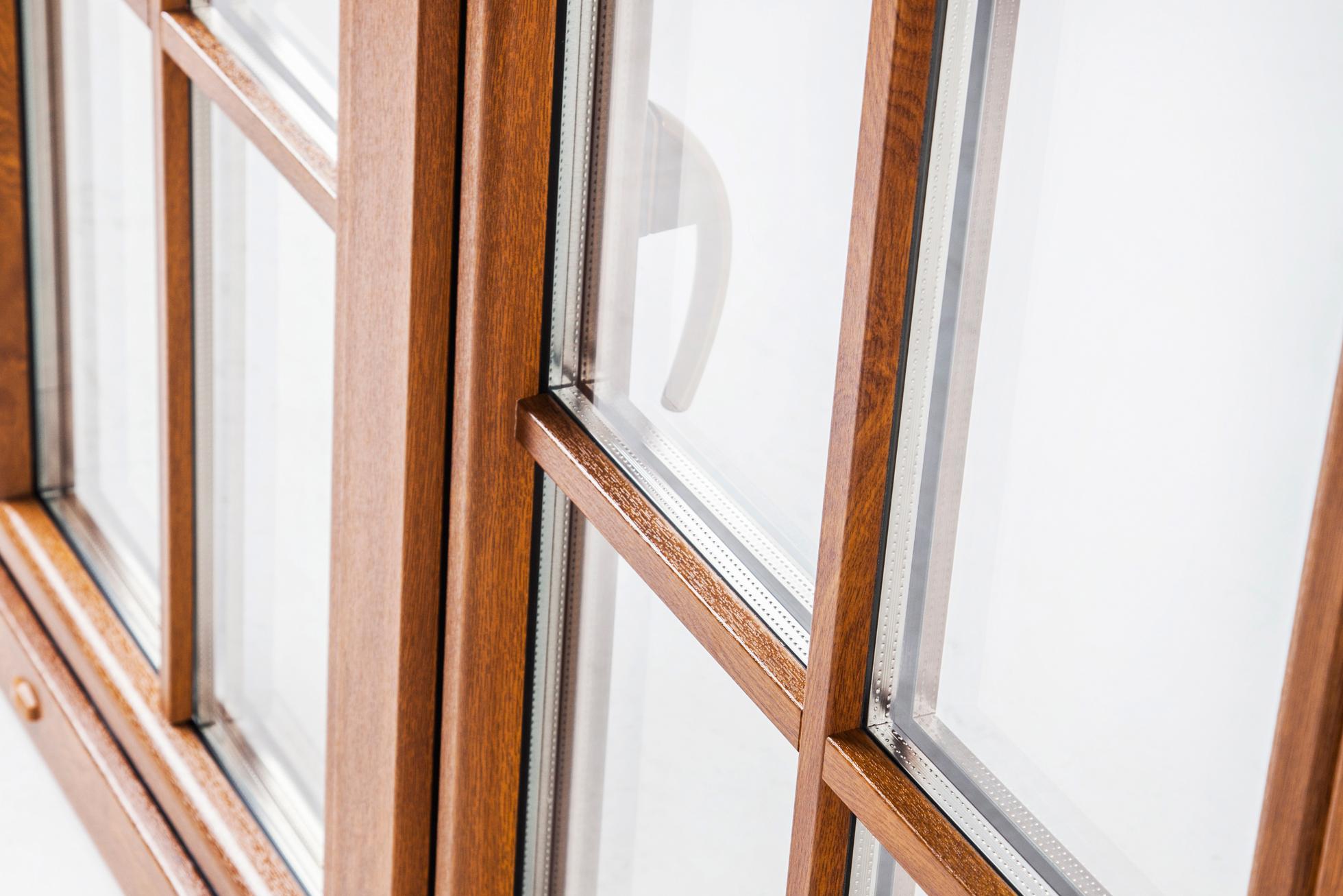 Okna Samoraj finestra pvc oblò bianca