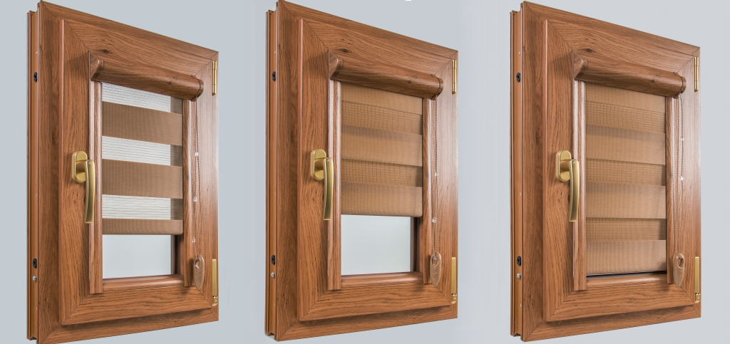 Tende a rullo giorno e notte okna samoraj porte e finestre in pvc dalla polonia - Bloccare apertura finestre chrome ...